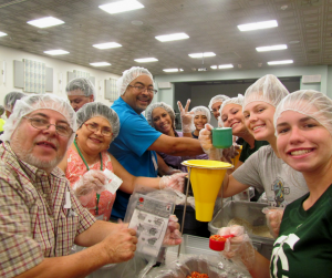 Fighting Hunger with the Hispanic Diocese of St. Petersburg, Florida by Amy Lamb